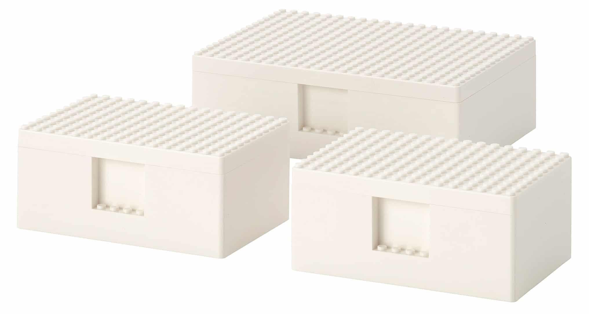 Ikea X LEGO Bygglek Boxen Klein