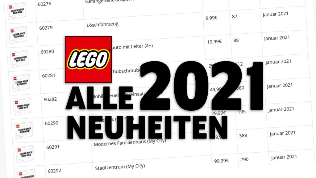 LEGO 2021 Neuheiten