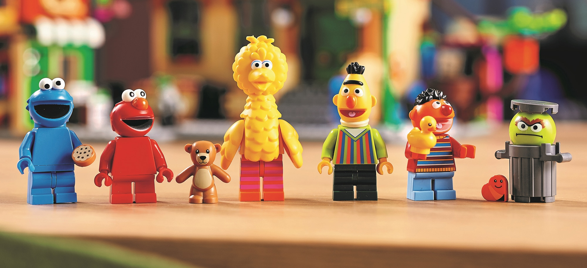 LEGO 21324 Sesame Street Minifiguren