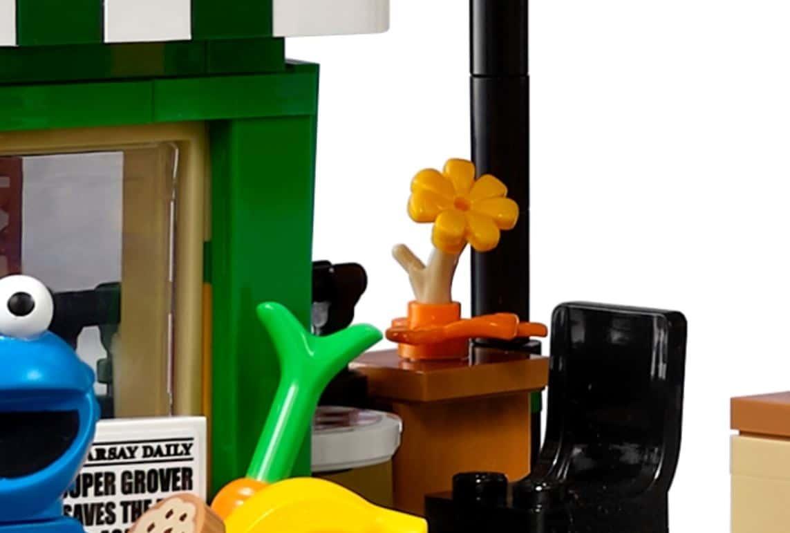 LEGO 21324 Sesame Street Neues Teil