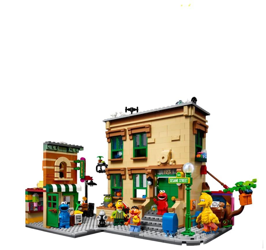 LEGO 21324 Sesamstrasse Vergleich 1