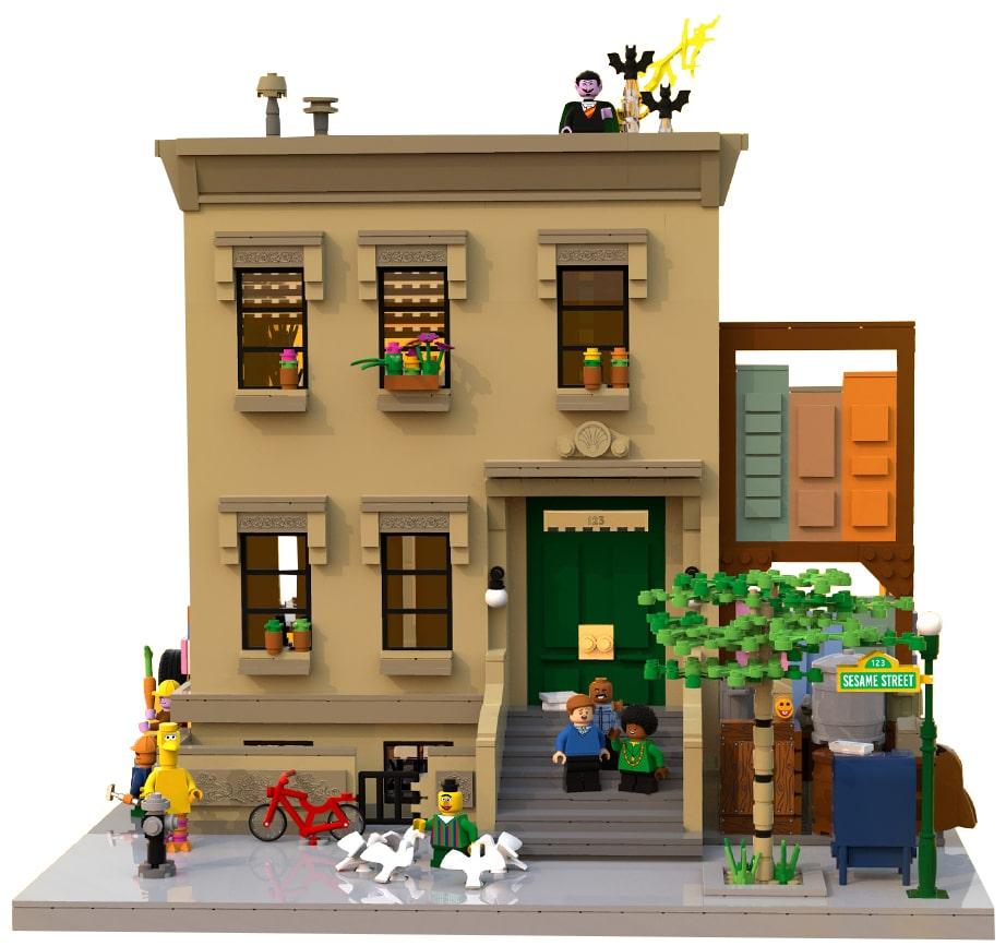 LEGO 21324 Sesamstrasse Vergleich 2