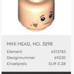 LEGO 40410 Head01