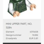 LEGO 40410 Torso