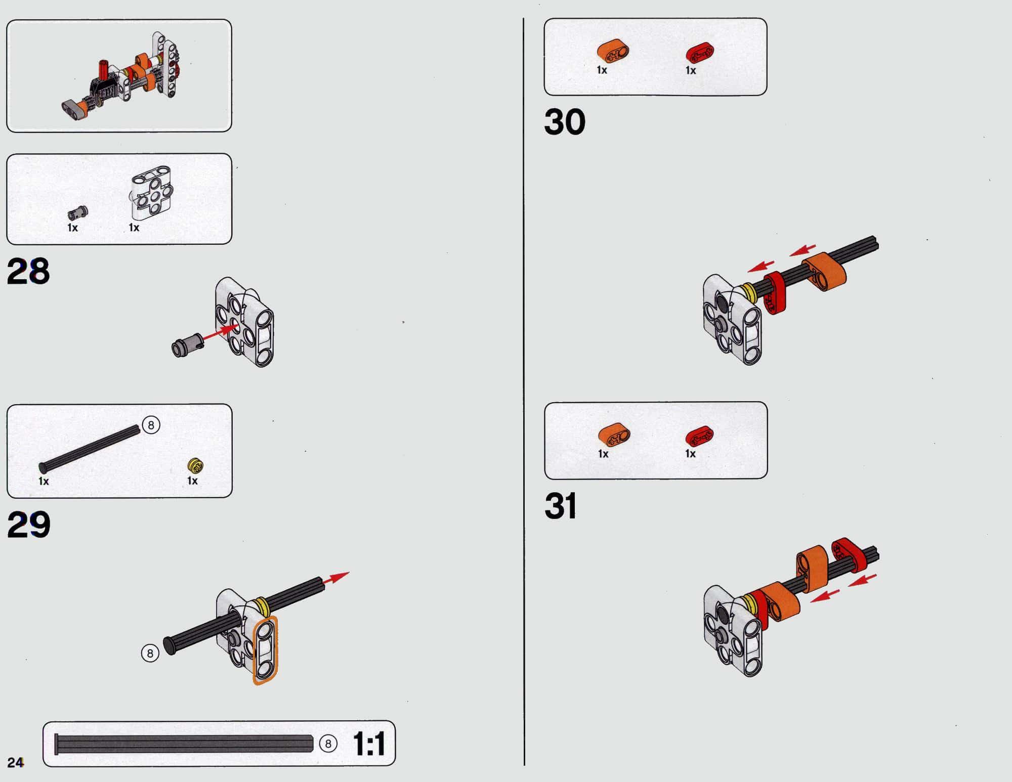 LEGO 42112 Betonmischer Lkw - Anleitung Seite 24 alt