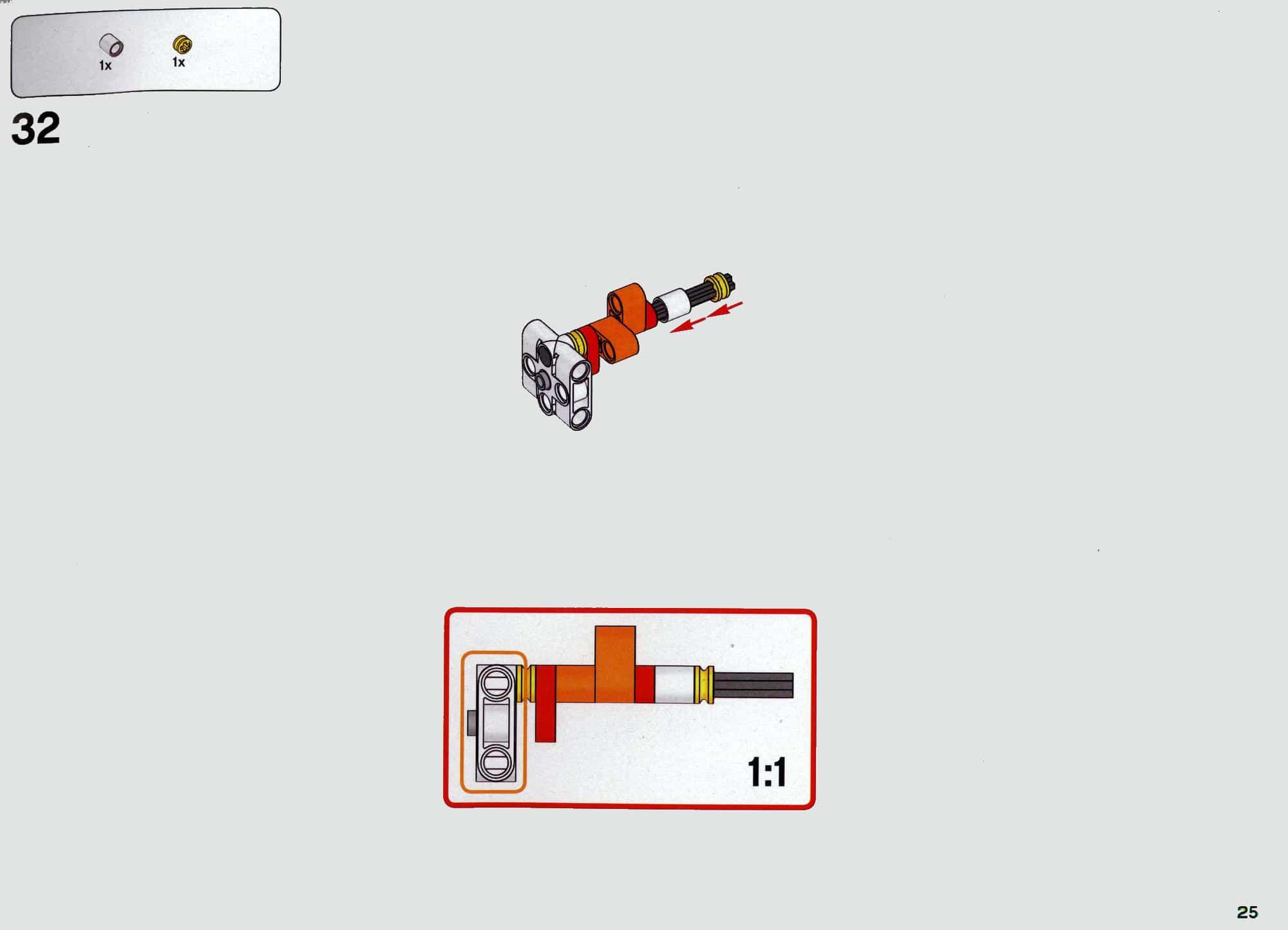 LEGO 42112 Betonmischer Lkw - Anleitung Seite 25 alt