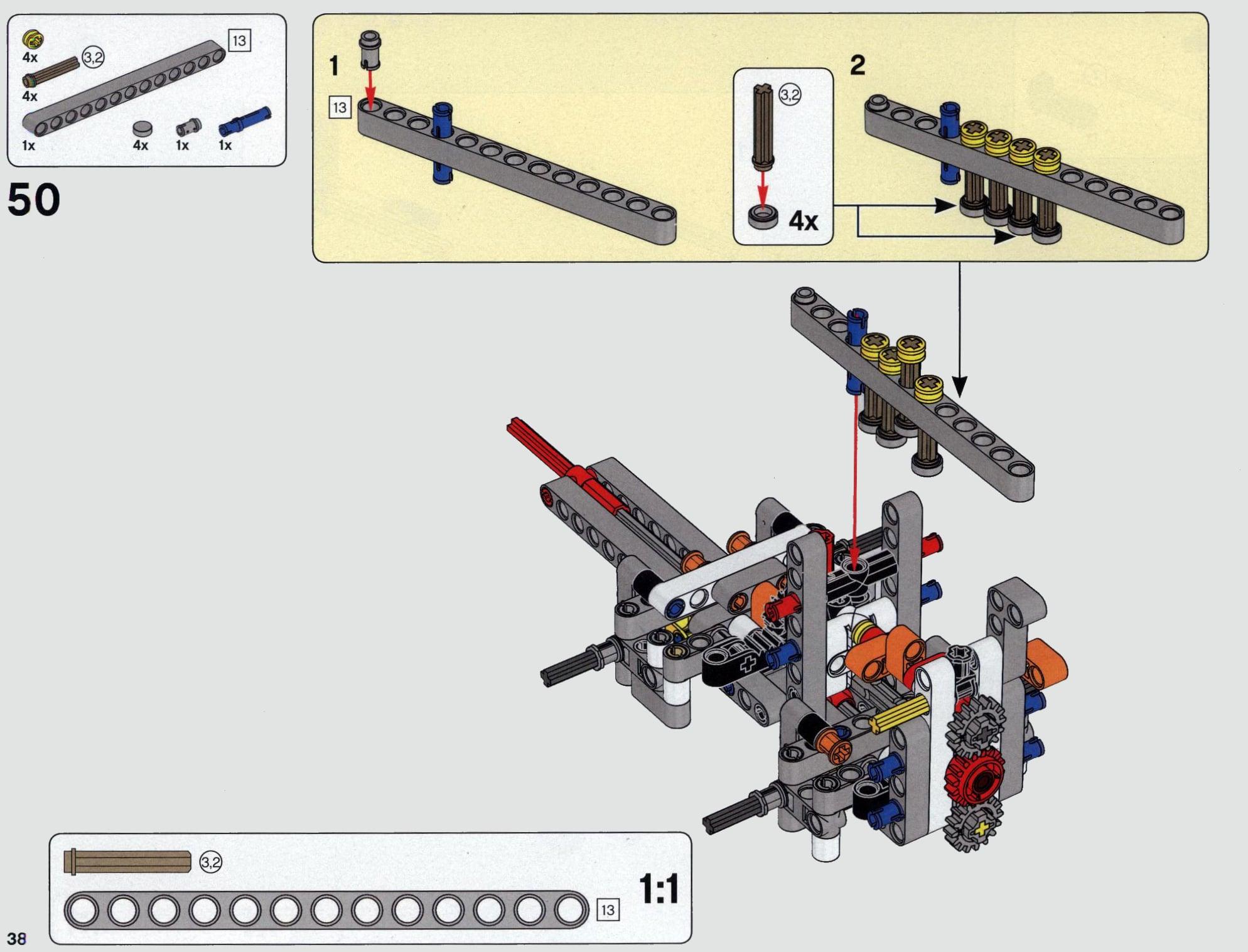 LEGO 42112 Betonmischer Lkw - Anleitung Seite 38 alt