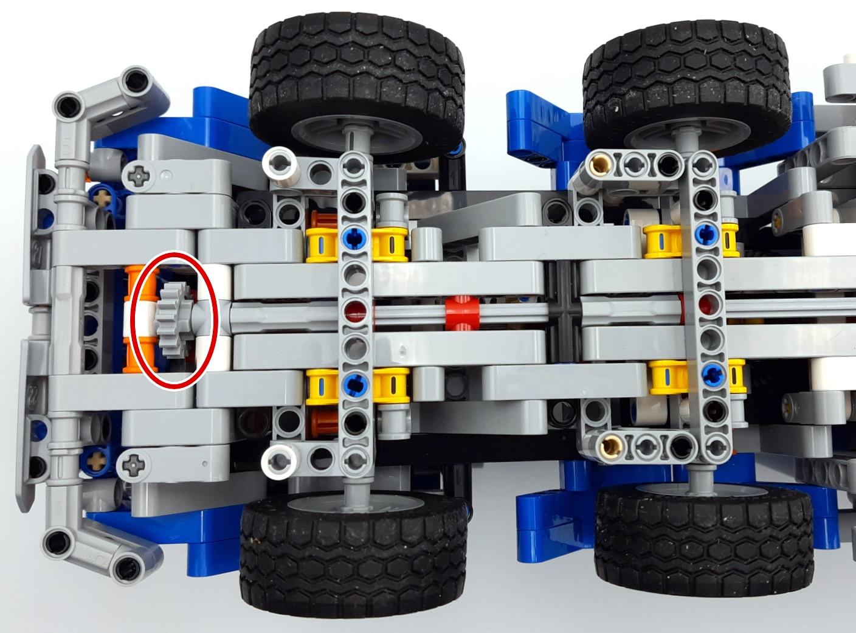 LEGO 42112 Betonmischer Lkw - Radikale Lösung 1