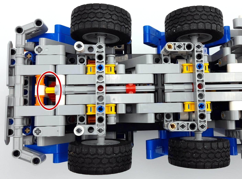 LEGO 42112 Betonmischer Lkw - Radikale Lösung 2