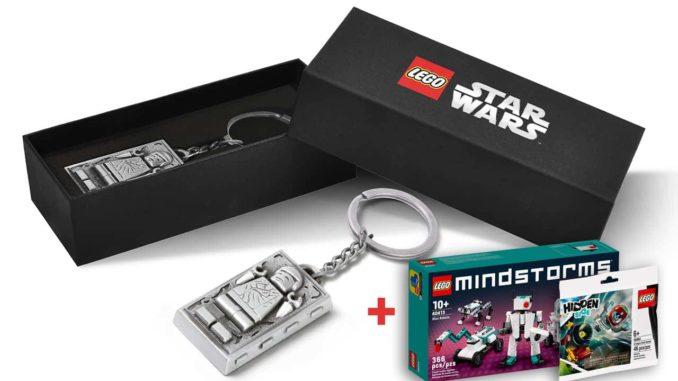 LEGO 5006363 Han Solo Carbonite Keychain Kopie
