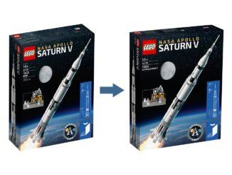 LEGO 92176 Nasa Apollo Saturn V