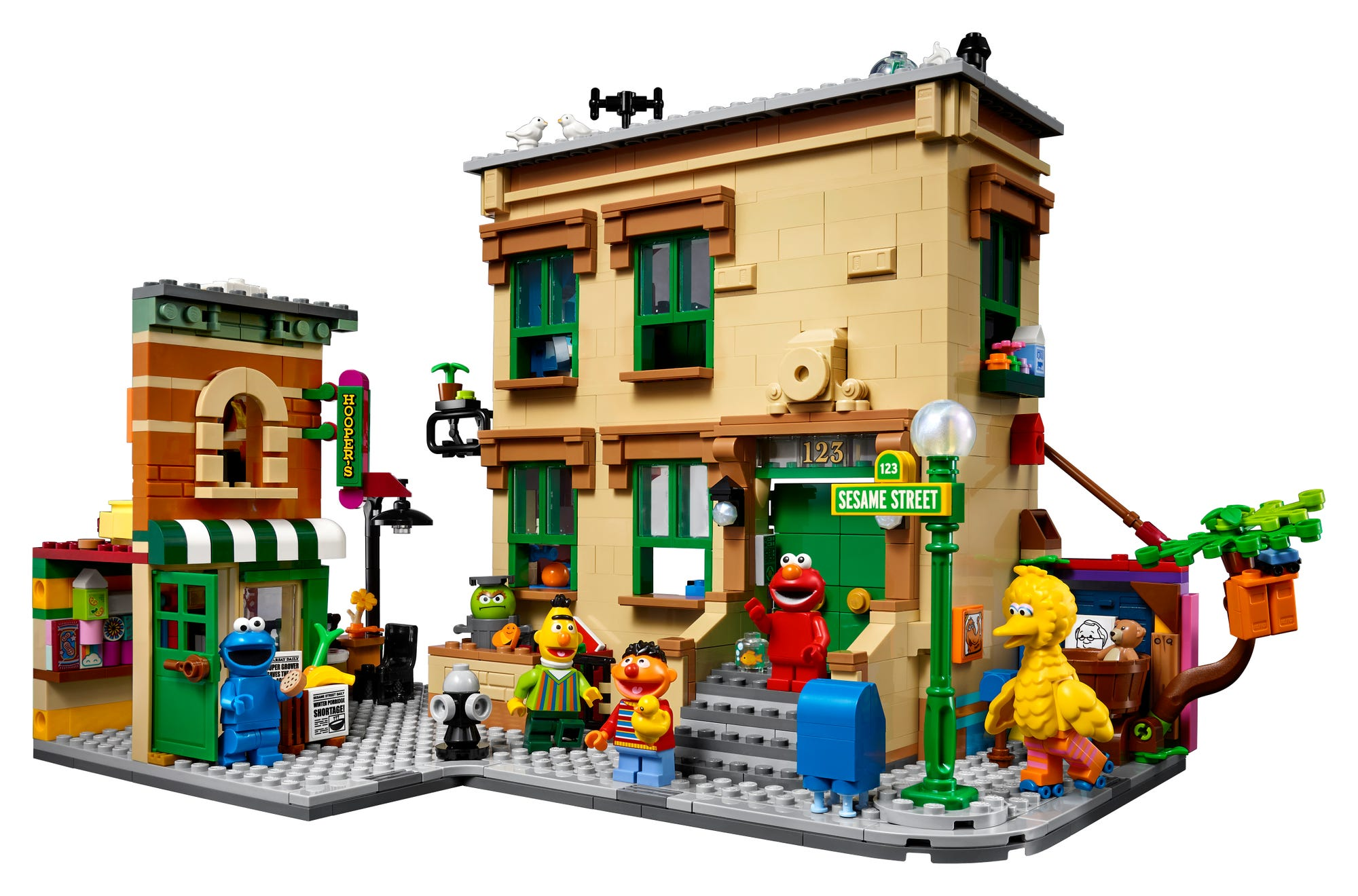 LEGO Ideas 21324 Sesame Street (3)