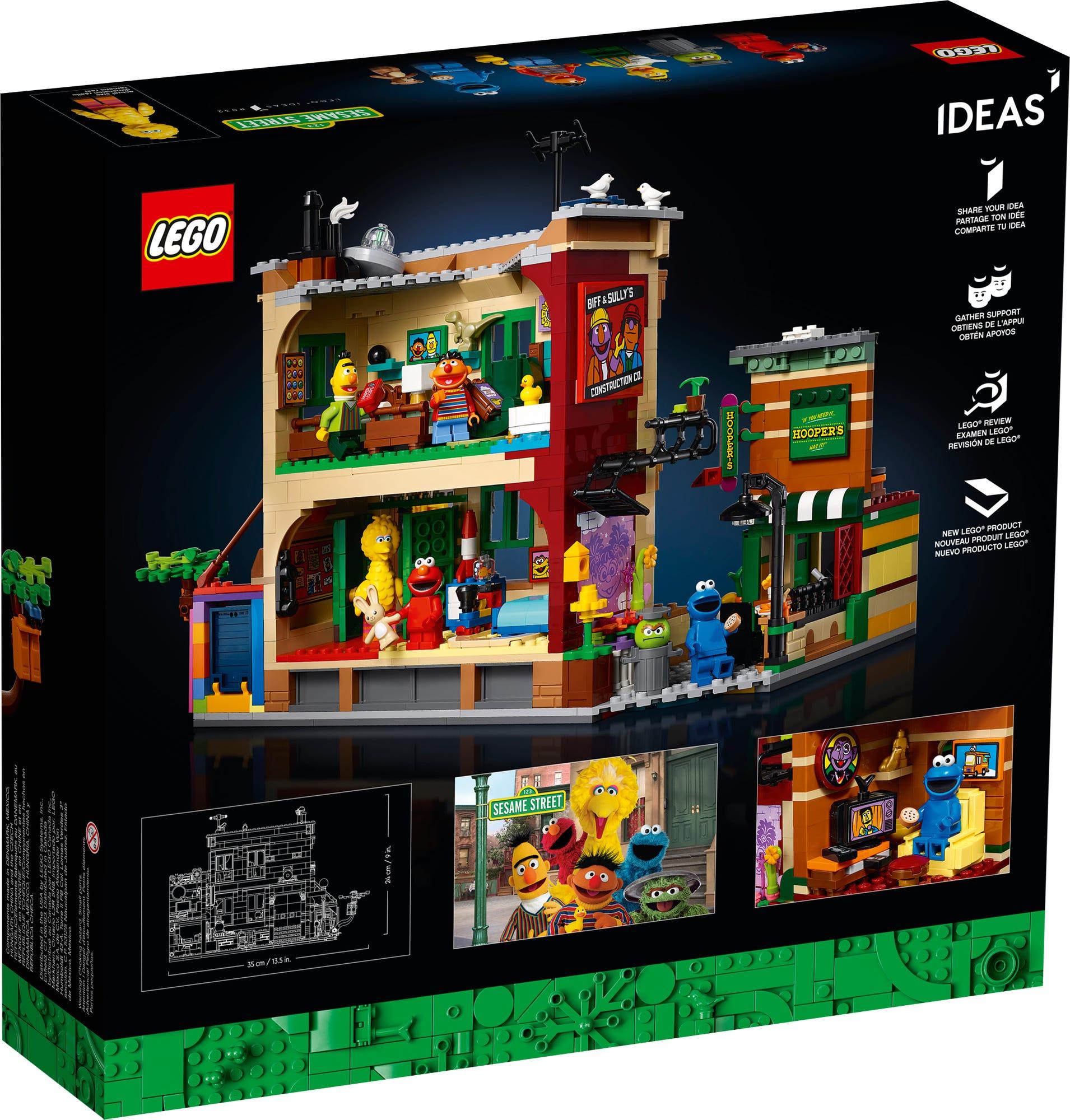 LEGO Ideas 21324 Sesame Street (8)
