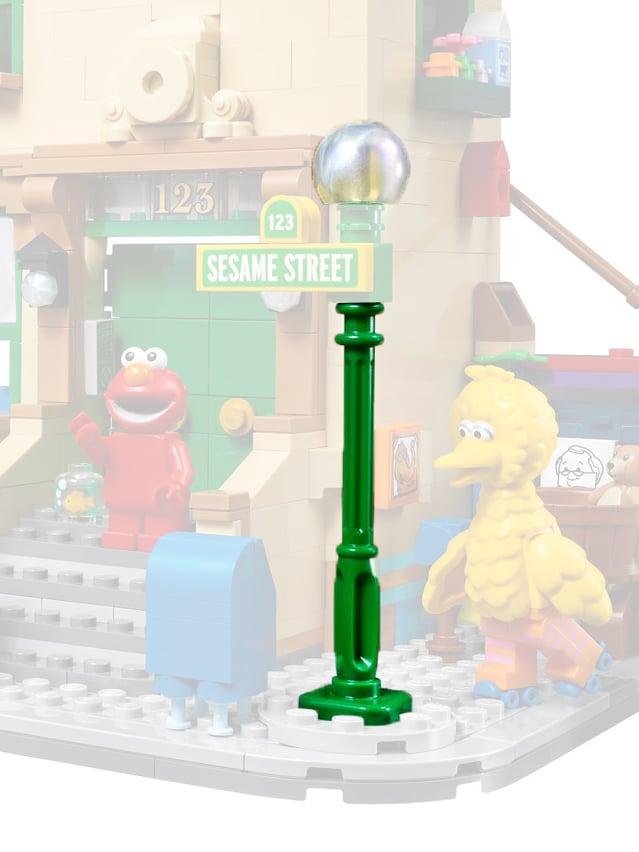 LEGO Ideas 21324 Sesamstraße Neue Teile01b