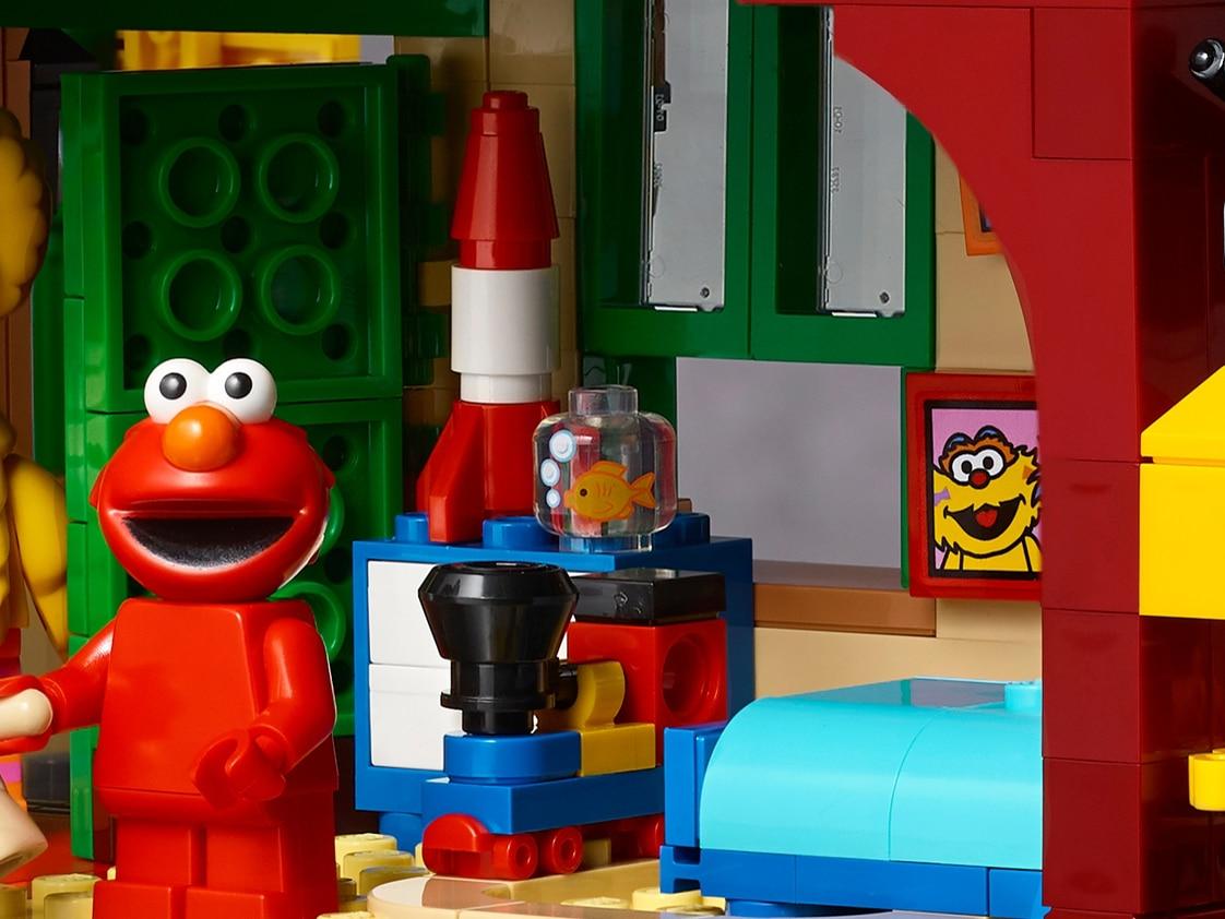 LEGO Ideas 21324 Sesamstraße Neue Teile02