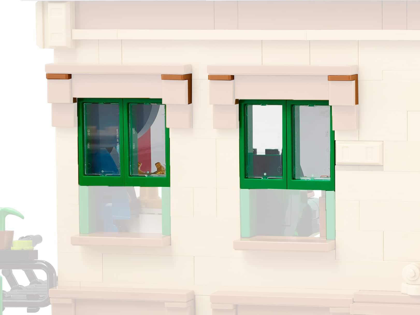 LEGO Ideas 21324 Sesamstraße Neue Teile03b