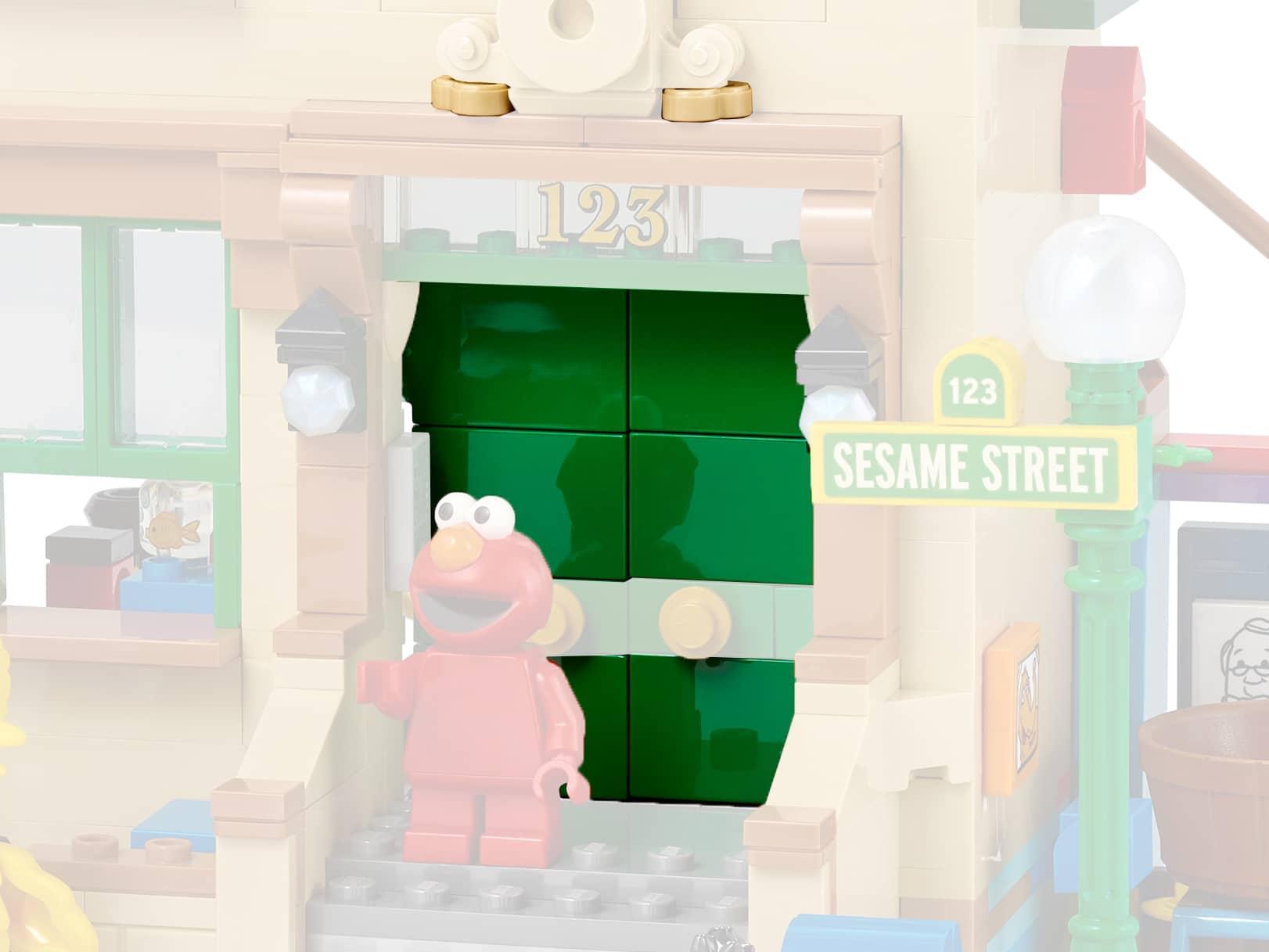 LEGO Ideas 21324 Sesamstraße Neue Teile04b