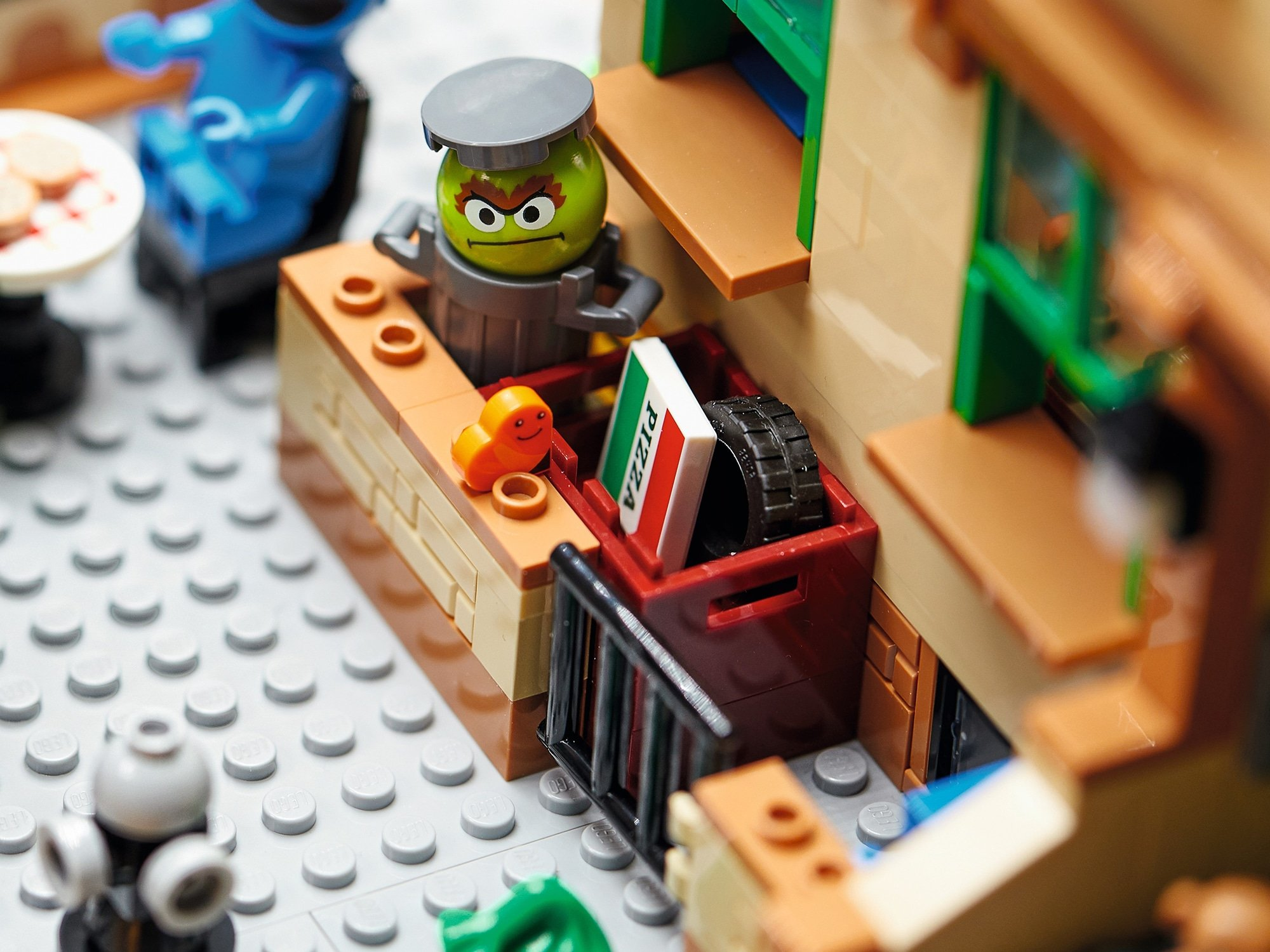 LEGO Ideas 21324 Sesamstraße Neue Teile06