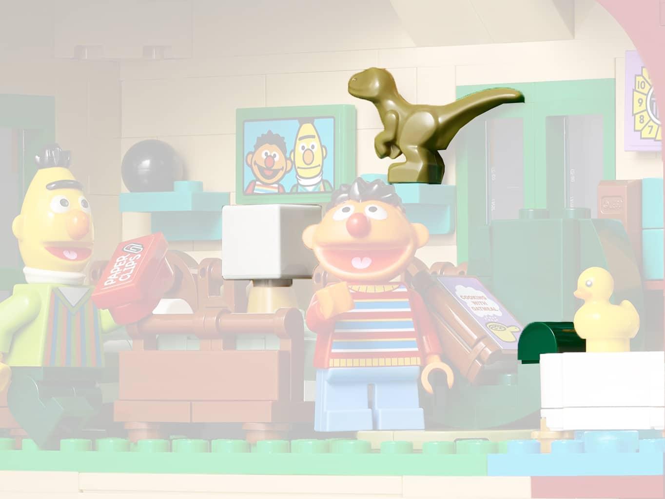 LEGO Ideas 21324 Sesamstraße Neue Teile07b