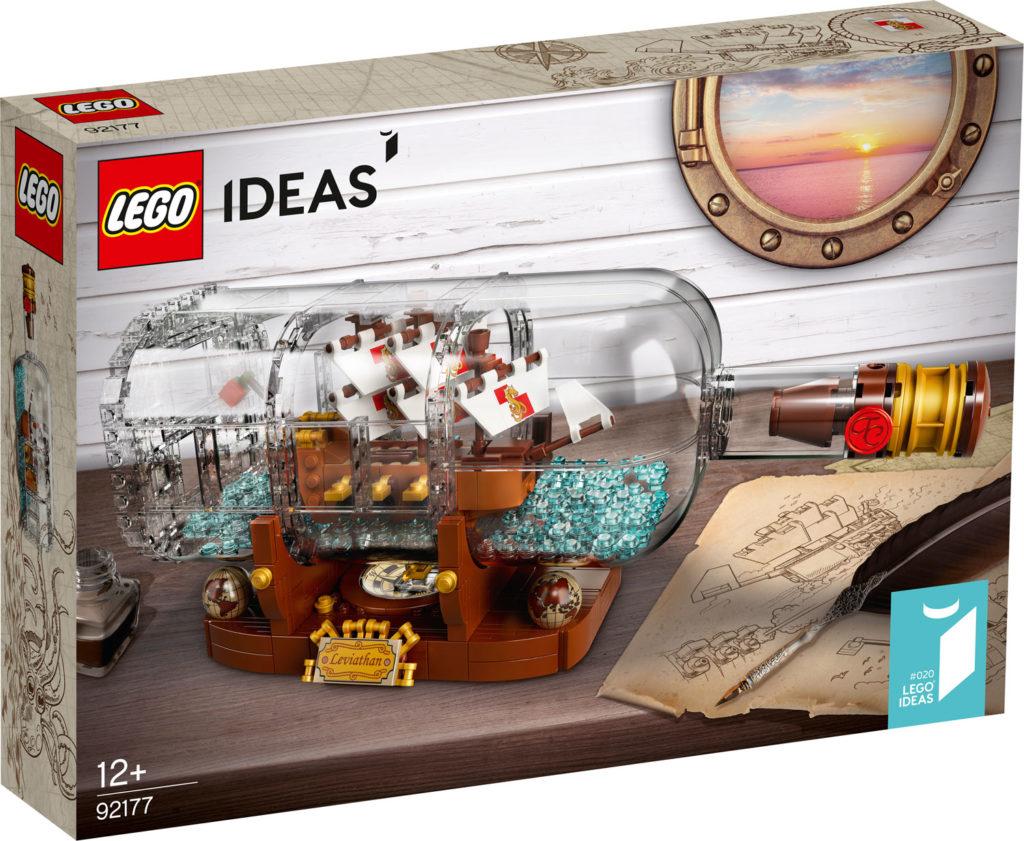 LEGO Ideas 92177 Schiff In Der Flasche
