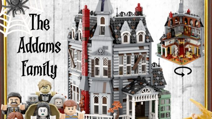 LEGO Ideas Addams Family Masion (1)