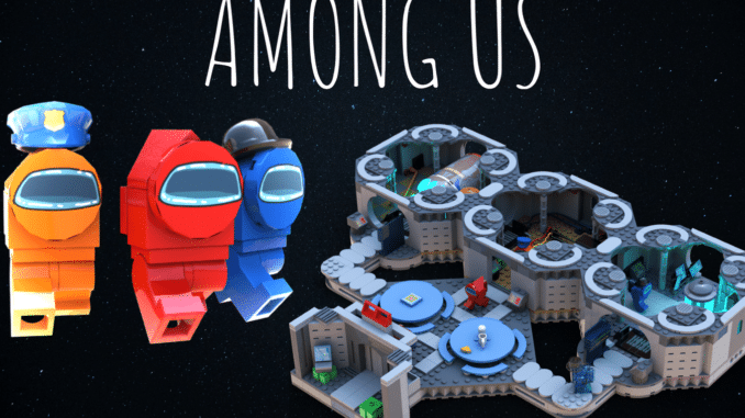LEGO Ideas Among Us Skeld (9)