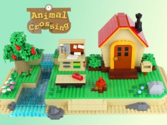 LEGO Ideas Animal Crossiing New Horizons Paradise (1)