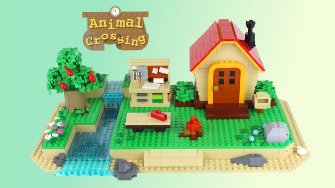 LEGO Ideas Animal Crossiing New Horizons Paradise (1)