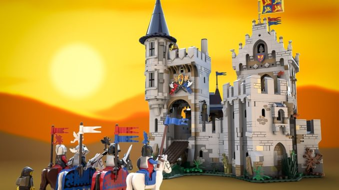 LEGO Ideas Castle Of Lord Afol (1)
