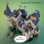 LEGO Ideas Castle Of Lord Afol (11)