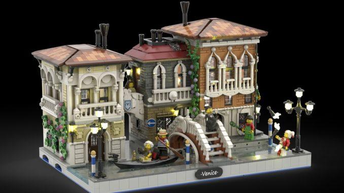 LEGO Ideas Little Venice (1)