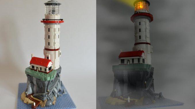 LEGO Ideas Motorized Lighthouse (1)