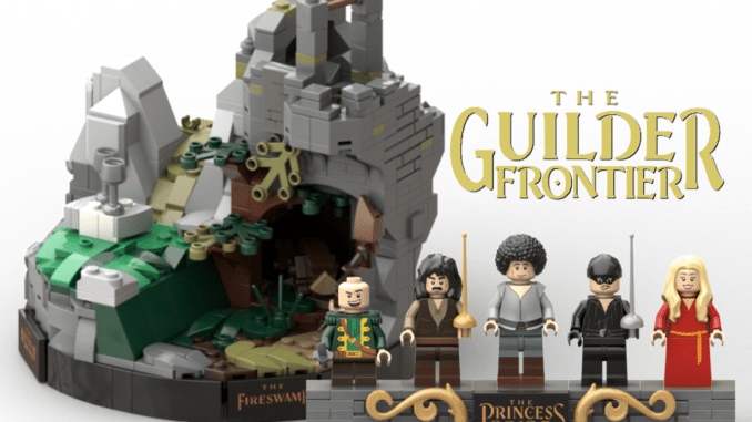 LEGO Ideas Princess Builder Guilder Fronttier (1)