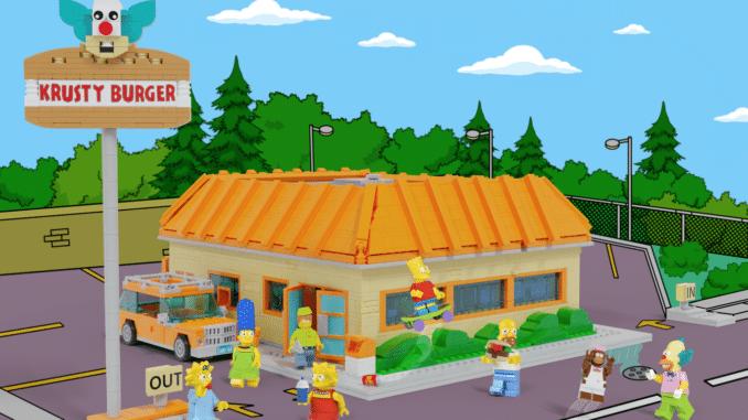 LEGO Ideas The Simpsons Krusty Burger (1)