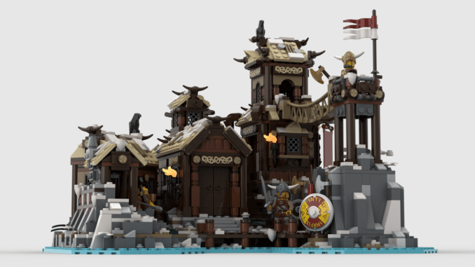 LEGO Ideas Viking Village (1)
