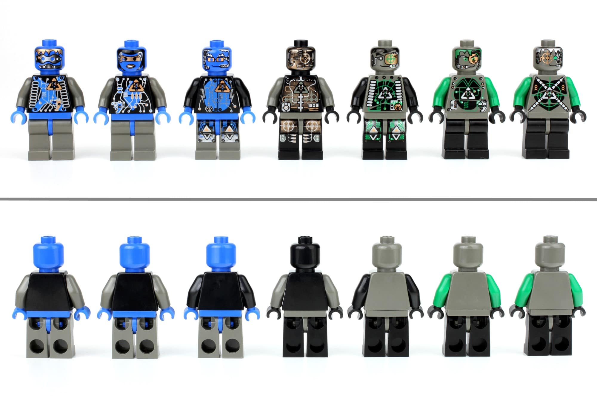LEGO Insectoids Minifigures