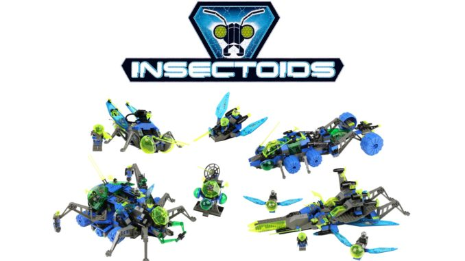 LEGO Insectoids Title Image