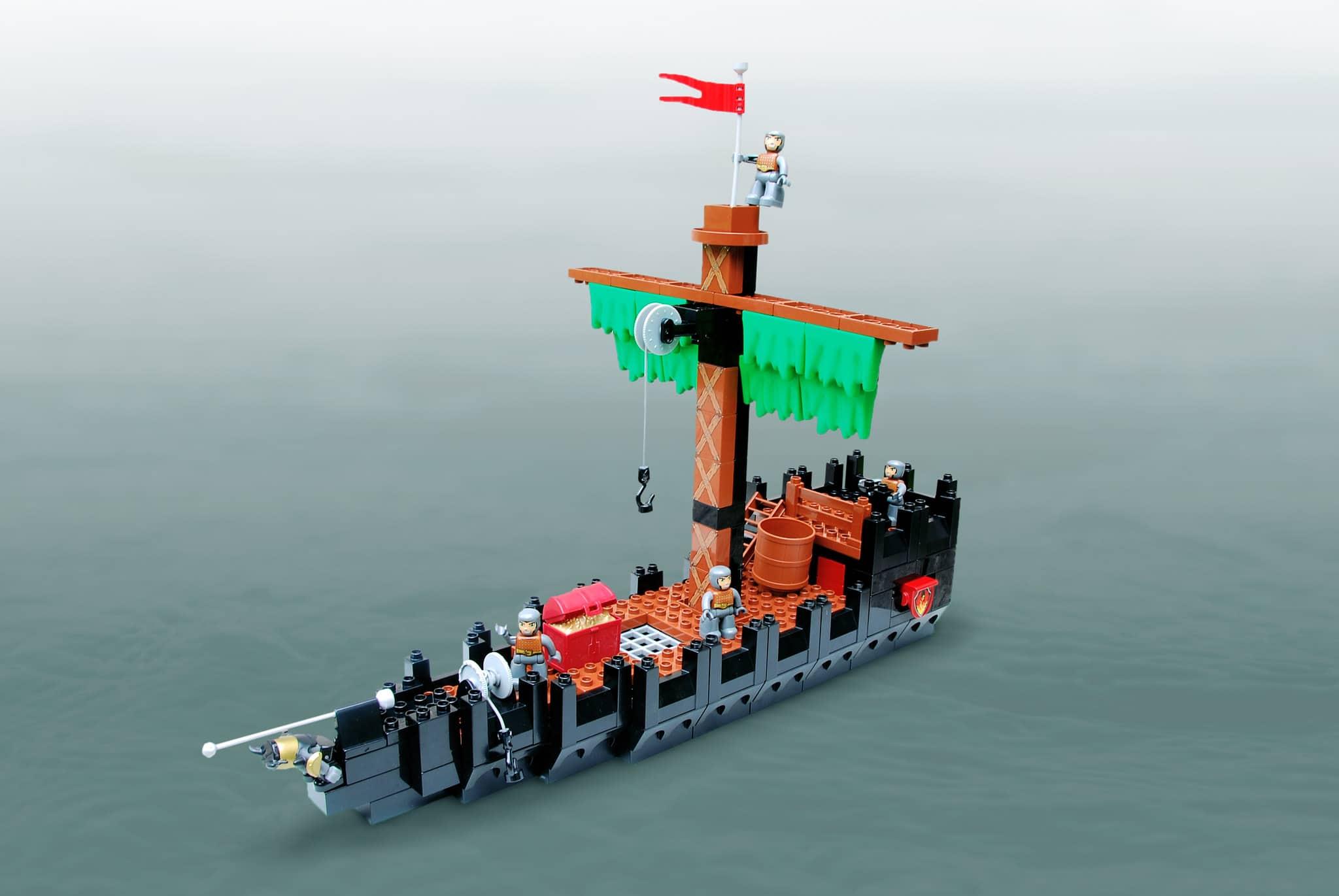 LEGO Iron Builder Duplo Gras (8)
