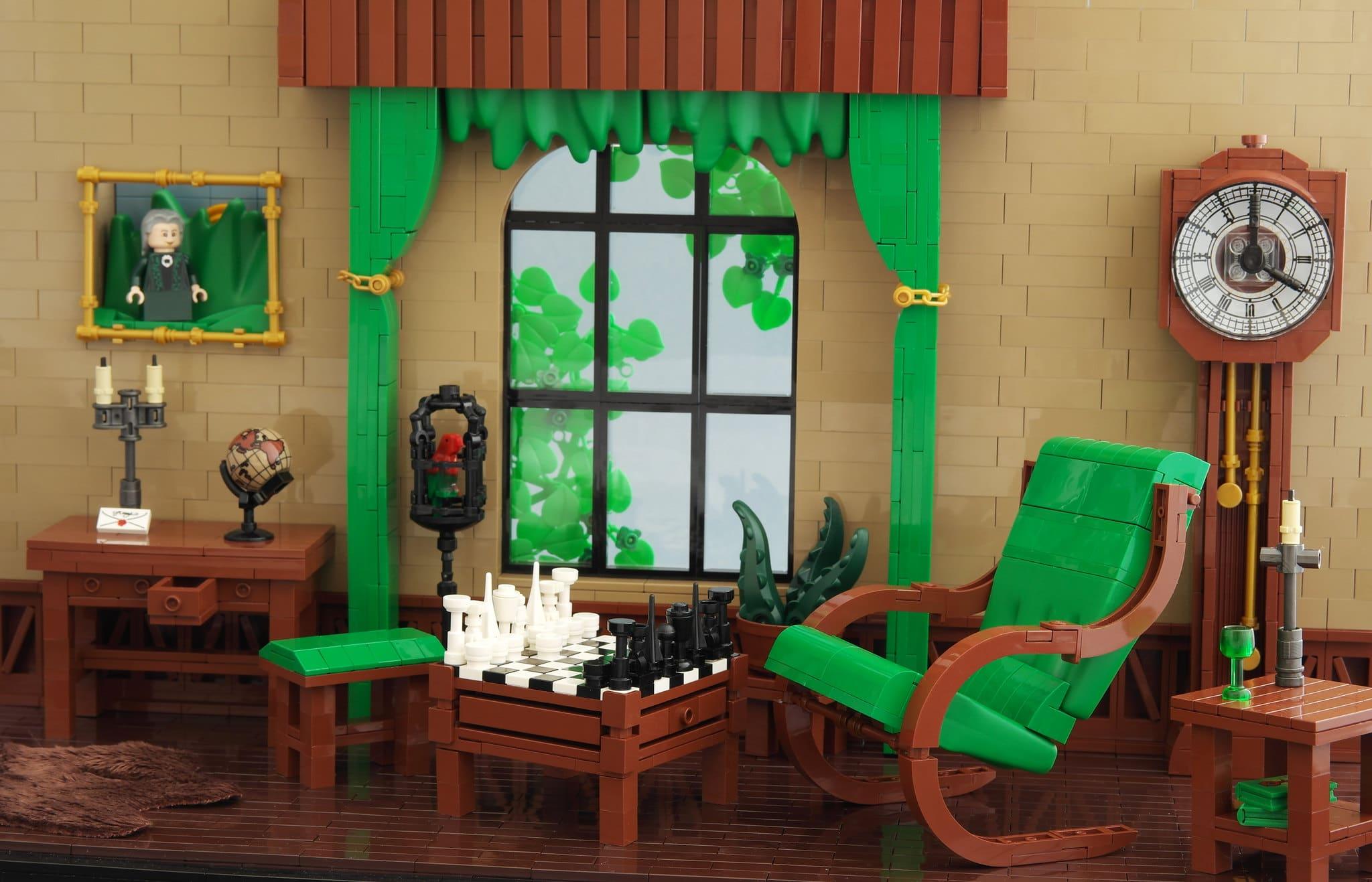 LEGO Iron Builder Duplo Gras Green Lounge (2)