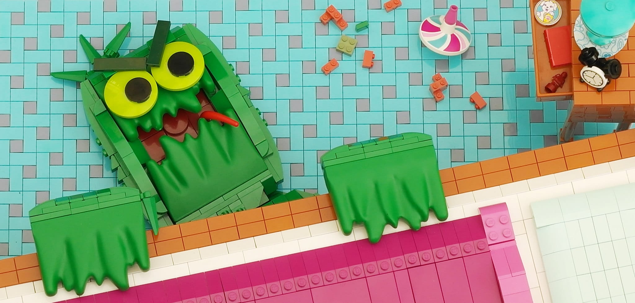 LEGO Iron Builder Duplo Gras Monster