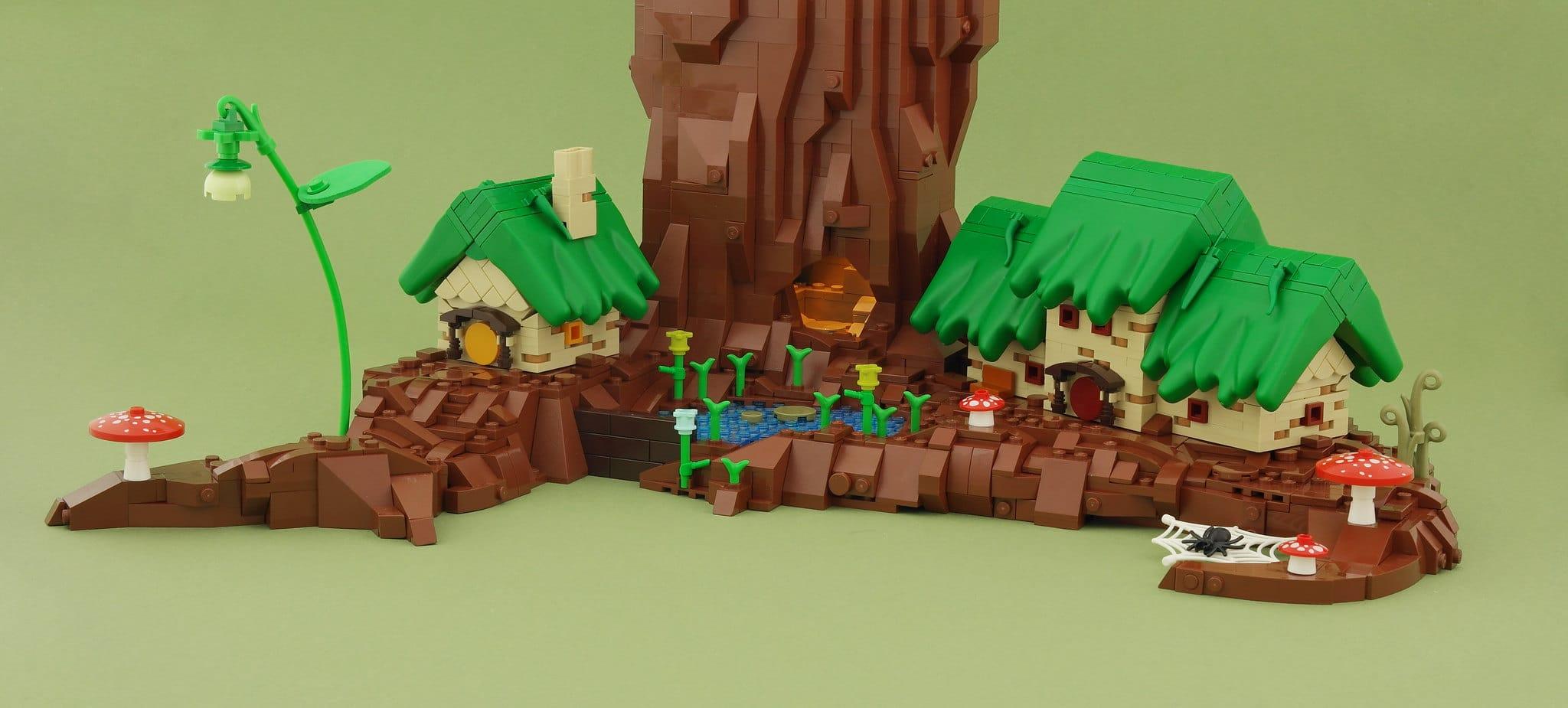 LEGO Iron Builder Duplo Gras Wurzeldorf (2)