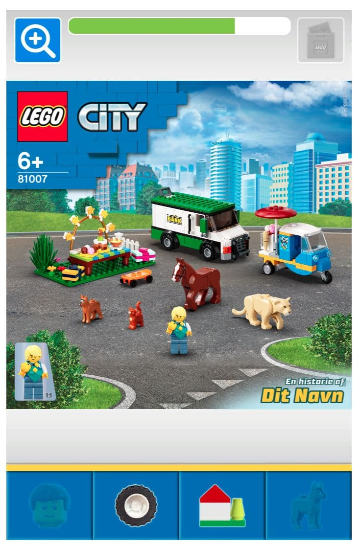 LEGO Lab City Set Selbst Designen (10)