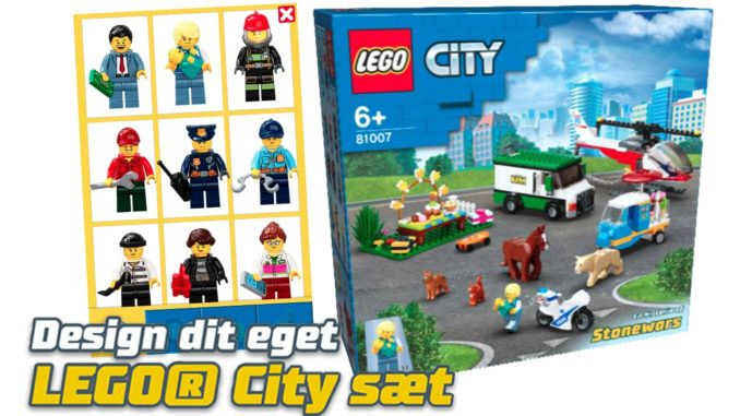 LEGO Lab City Set Selbst Designen Titel