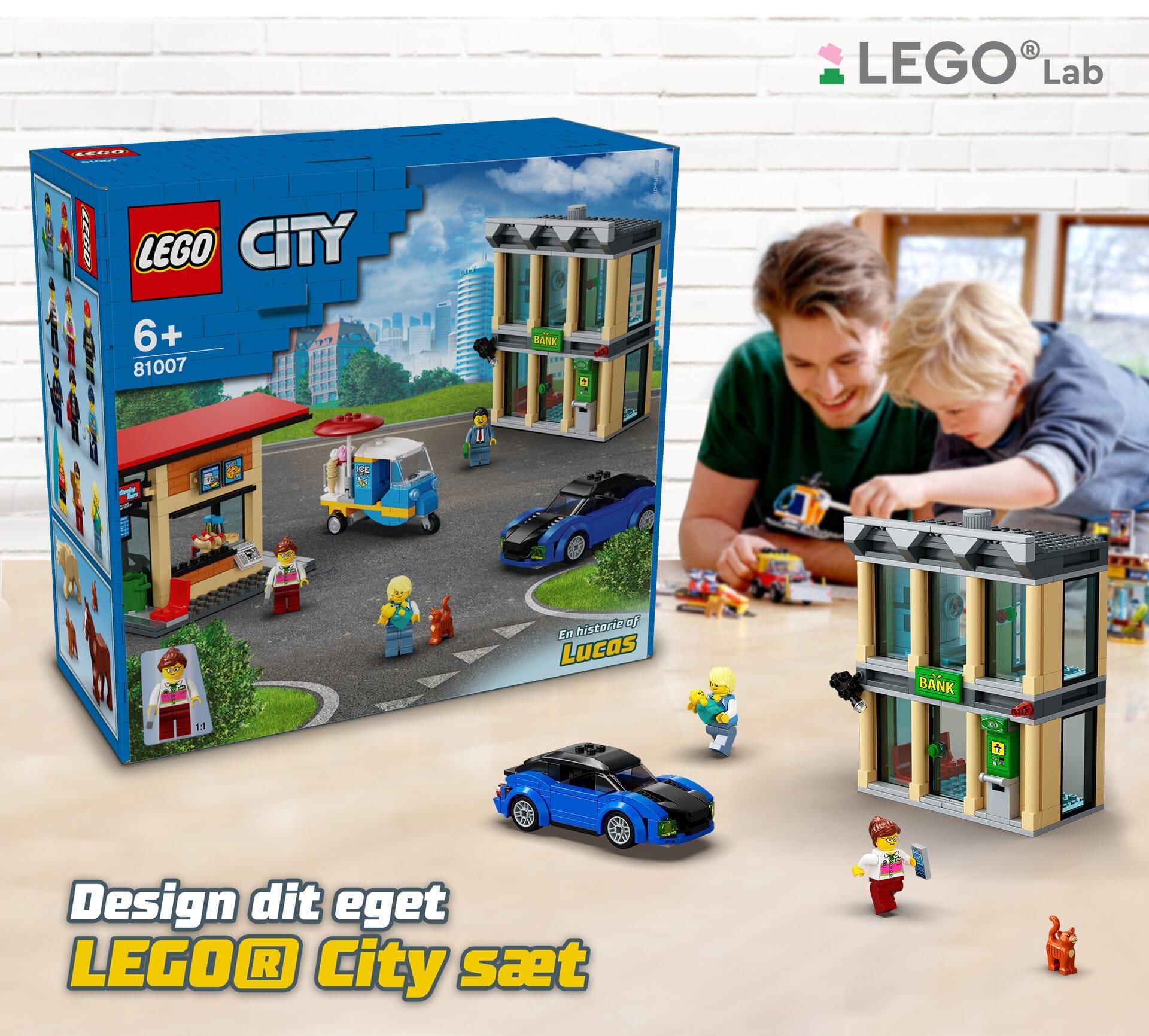 LEGO Lab Designe Dein LEGO City Set 01