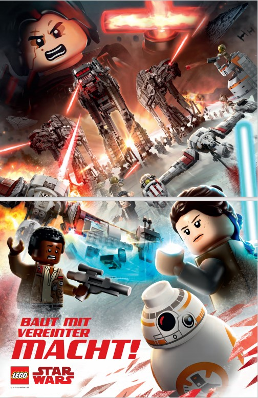 LEGO Magazin Poster