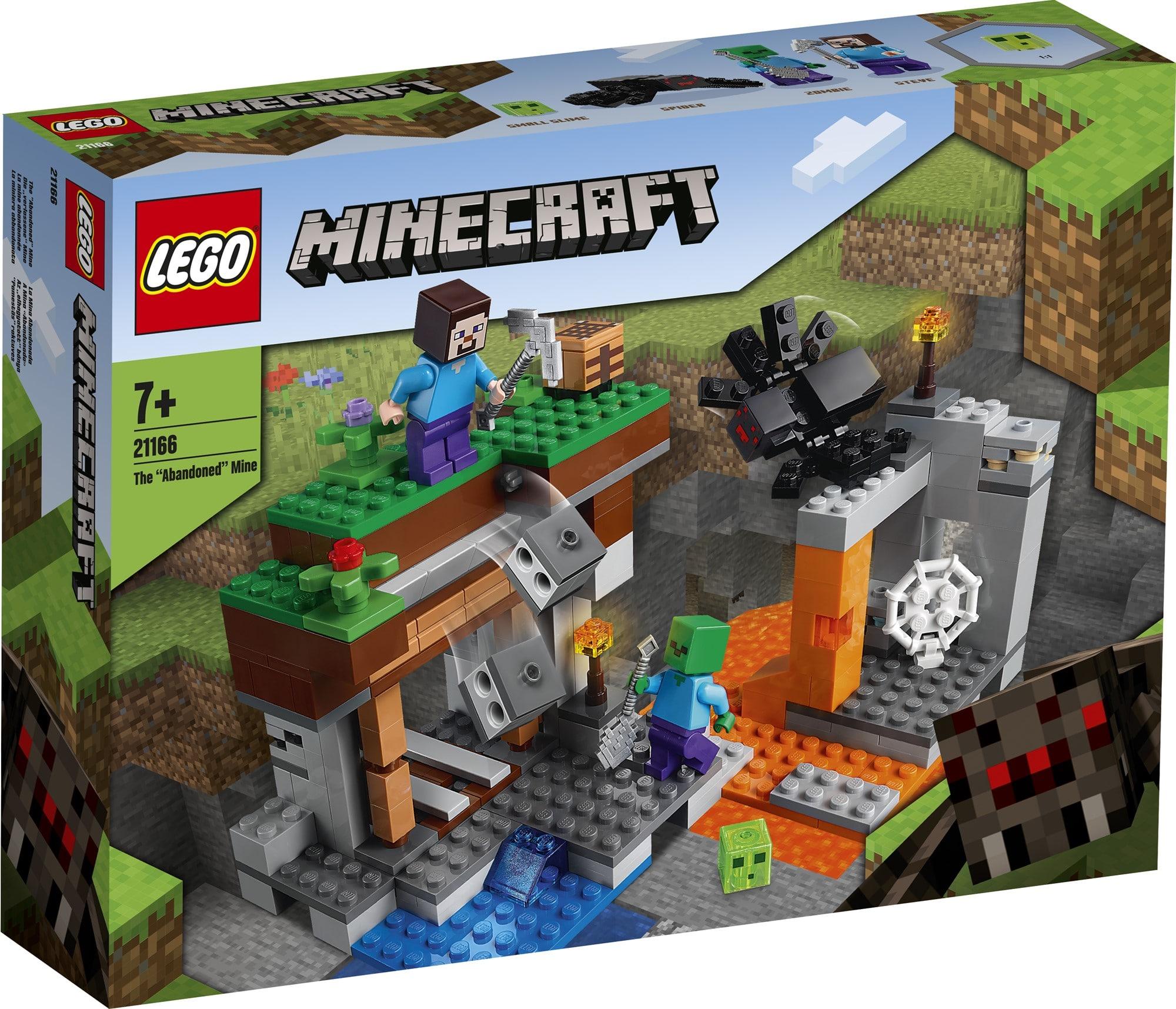 LEGO Minecraft 21166 Die Verlassene Mine