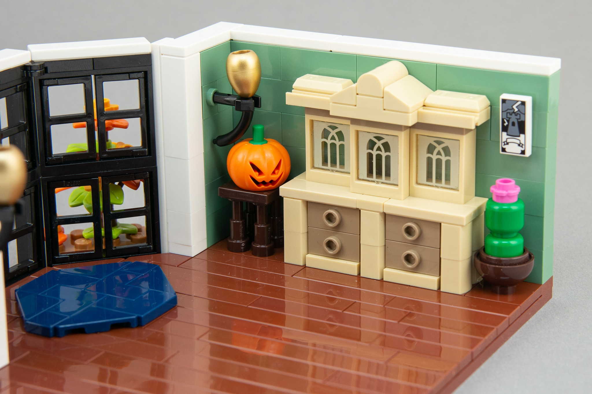 LEGO Moc Bausinpiration Esszimmer (11)