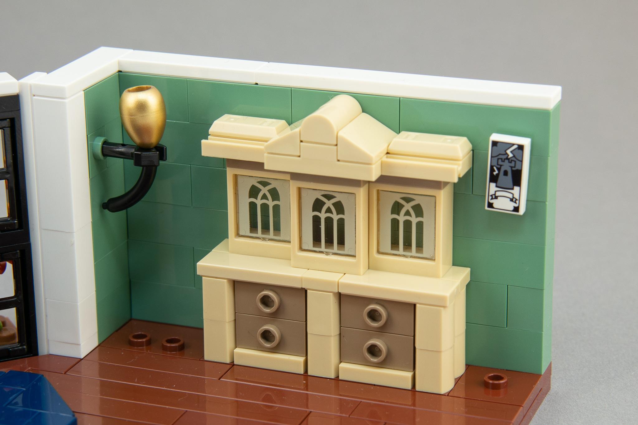 LEGO Moc Bausinpiration Esszimmer (13)