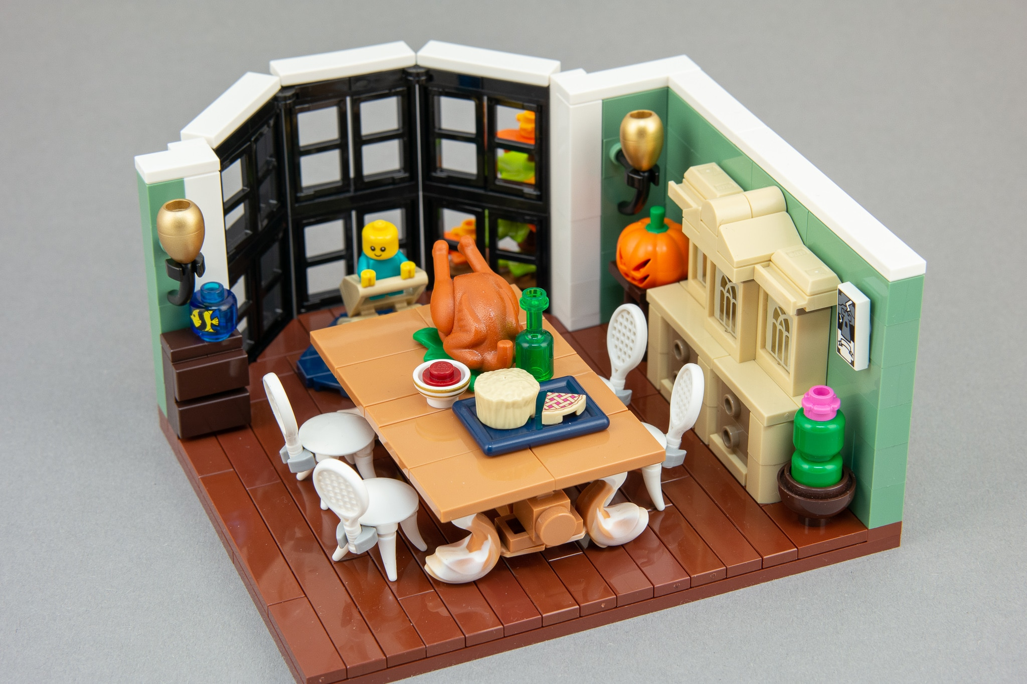 LEGO Moc Bausinpiration Esszimmer (5)
