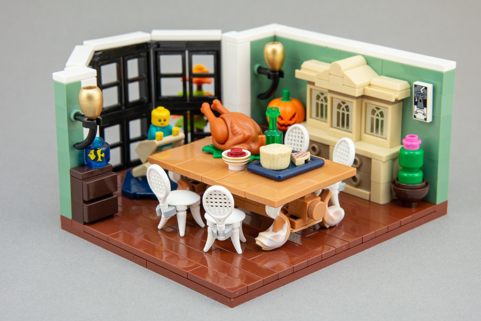 LEGO Moc Bausinpiration Esszimmer (6)